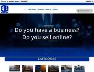 4ainternacional.com screenshot