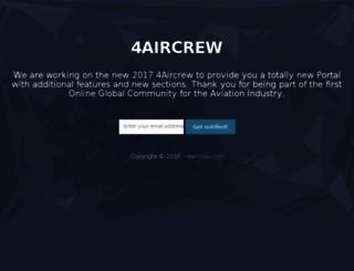 4aircrew.com screenshot