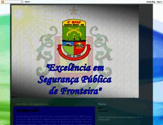 4batalhaodefronteirasantarosa.blogspot.com.br screenshot