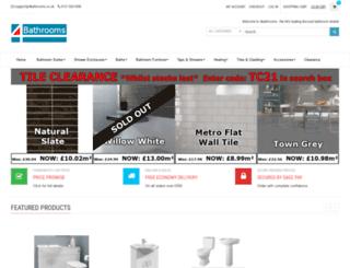 4bathrooms.co.uk screenshot