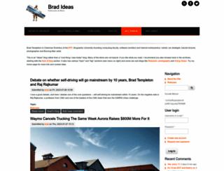 4brad.com screenshot