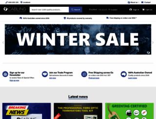 4cabling.com.au screenshot