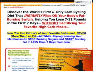4cyclefatloss.com screenshot