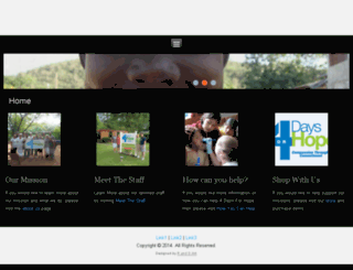 4days4hope.org screenshot