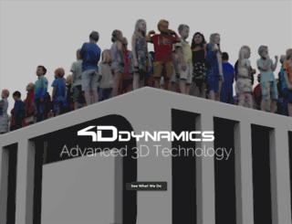 4ddynamics.com screenshot
