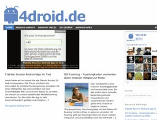 4droid.de screenshot