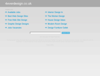 4everdesign.co.uk screenshot