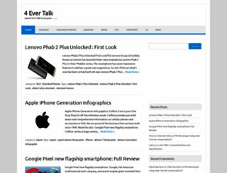 4evertalk.com screenshot