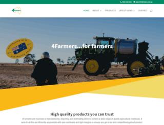 4farmers.com.au screenshot
