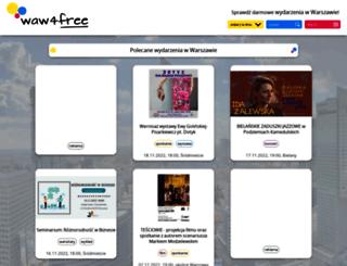 4free.waw.pl screenshot
