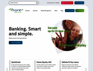 4frontcu.com screenshot