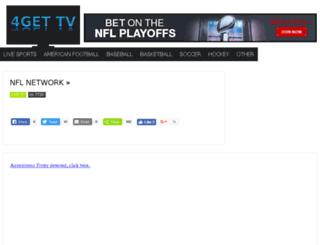 4gettv.com screenshot