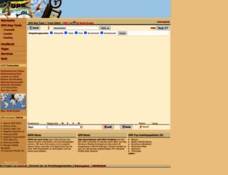 4gps.de screenshot
