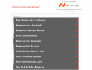 4instant-online-business.com screenshot