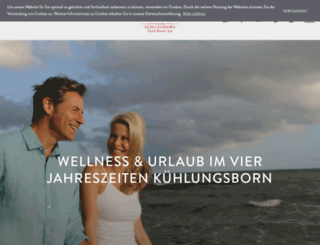 4jahreszeiten-kuehlungsborn.de screenshot