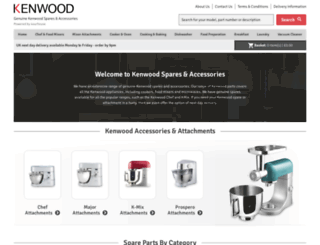 4kenwood.co.uk screenshot
