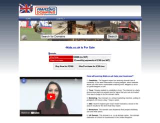 4kids.co.uk screenshot
