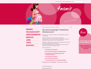 4mamis.de screenshot