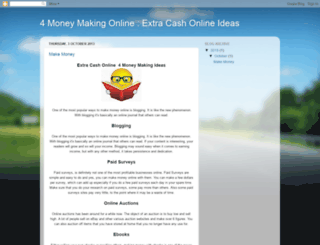 4money-making-online.blogspot.com screenshot
