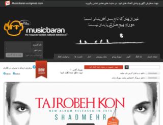 4musicbaran.com screenshot
