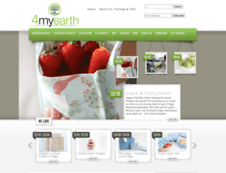 4myearth.com.au screenshot
