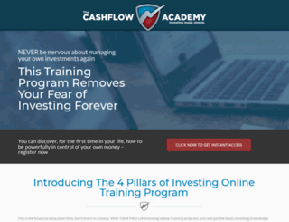 4pillarsofinvesting.com screenshot