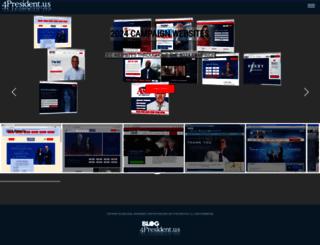 4president.us screenshot