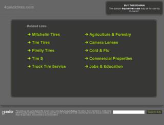 4quicktires.com screenshot
