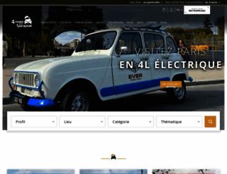 4roues-sous-1parapluie.com screenshot