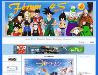 4sanimeclub.forumativo.com screenshot