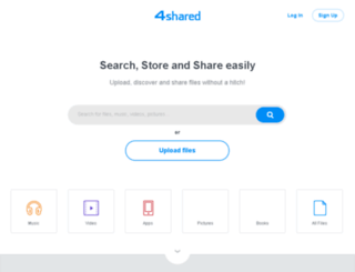 4shared-china.com screenshot