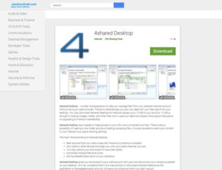 4shared-desktop.joydownload.com screenshot