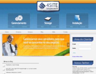 4site.com.br screenshot