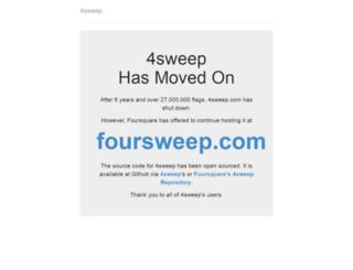 4sweep.com screenshot