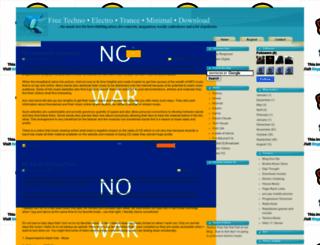 4techno-music.blogspot.fr screenshot