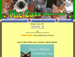 4thecatsmeow.info screenshot