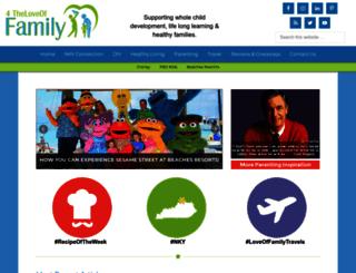 4theloveoffamily.com screenshot