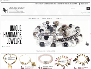 4thfloorjewelry.com screenshot