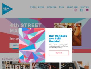 4thstreetmarket.com screenshot