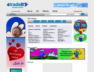 4tradeit.co.nz screenshot