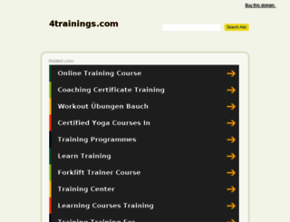 4trainings.com screenshot