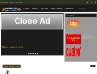 4tvsport.com screenshot