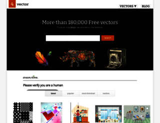 4vector.com screenshot