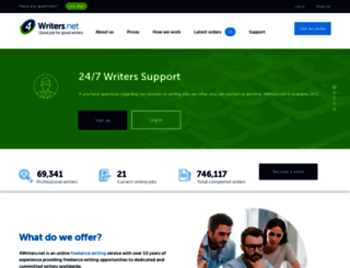 4writers.net screenshot