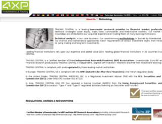 4xp.tradingcentral.com screenshot