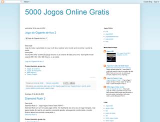 5000jogosgratis.blogspot.com.br screenshot