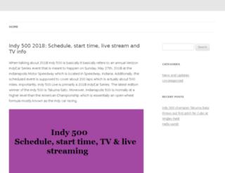 500indy.net screenshot