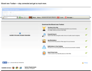 50centnew.media-toolbar.com screenshot