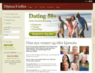 50plusstreffen.com screenshot