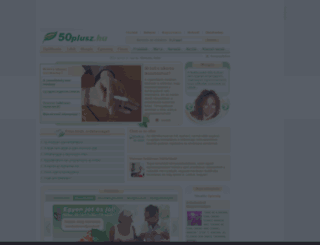 50plusz.hu screenshot